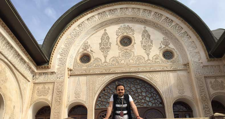 مجتبی نور محمدی : سفر میکنم تا خودم را پیدا کنم