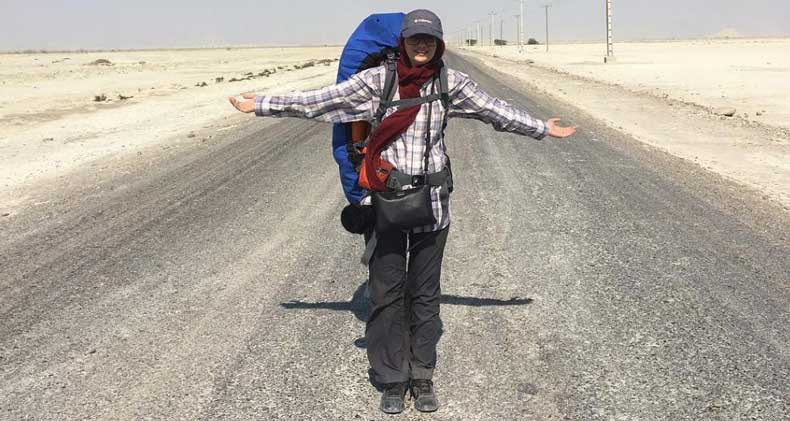 نهال مهدوی : تمرین صبوری با سفر